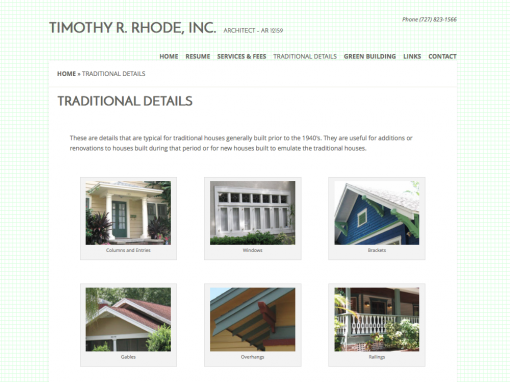 Timothy R Rhode Architect